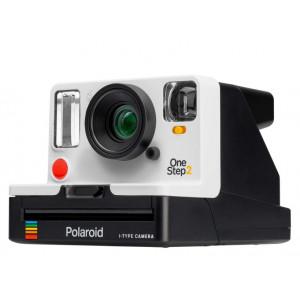 Polaroid OneStep 2 VF - White + Polaroid Color Film for i-Type 9008