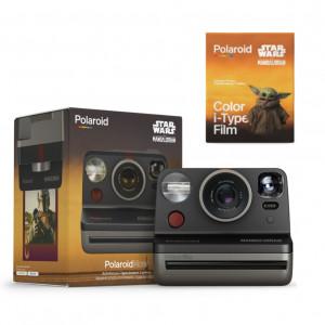 Polaroid Now - Mandalorian camera 9044 + Polaroid (S) Color film for i-Type - The Mandalorian Edition 6020 9044