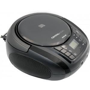 CRYSTAL AUDIO BMB1K CD/MP3/FM PLAYER BLACK BMB1K