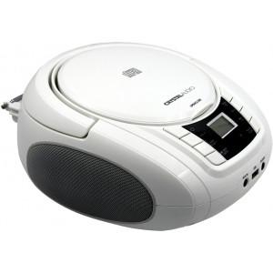 CRYSTAL AUDIO BMBU2W CD/MP3/FM/USB PLAYER WHITE BMBU2W