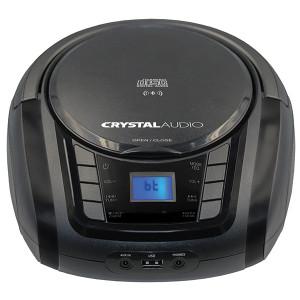 CRYSTAL AUDIO BMBUB3 BT/CD/MP3/FM/USB PLAYER BLACK BMBUB3