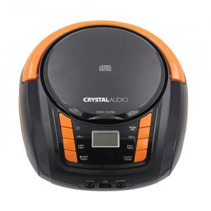 CRYSTAL AUDIO BMBU2KO CD/MP3/FM/USB PLAYER BLACK/ORANGE ΒΜΒ2ΚΟ