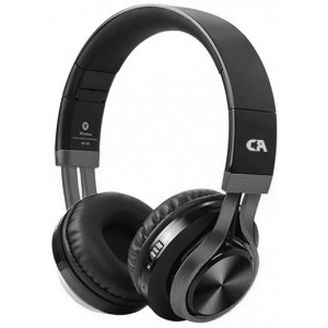 CRYSTAL OE-02-K BLACK-GUNMENTAL ON-EAR HEADPHONES OE-02-K