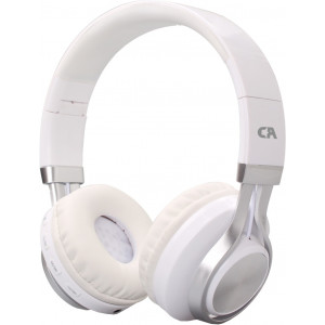CRYSTAL OE-02-WH WHITE ON-EAR HEADPHONES OE-02-WH
