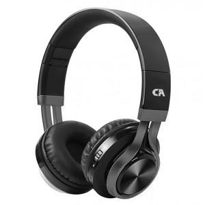 CRYSTAL AUDIO BT-01-K BLACK-GUNMENTAL ON-EAR HEADPHONES BT-01-K