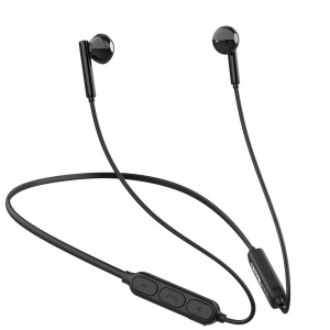 CRYSTAL AUDIO NB2-K BLACK BLUETOOTH IN-EAR NECKBAND HEADPHONES NB2-K