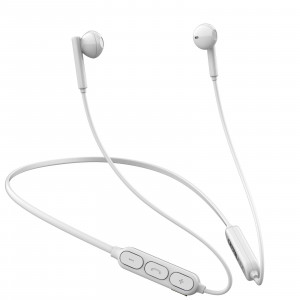 CRYSTAL AUDIO NB2-W WHITE BLUETOOTH IN-EAR NECKBAND HEADPHONES NB2-W