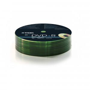 TDK 78649 DVD+R ~ 16X 25PK PUCK TDK 4.7GB 15-LANG