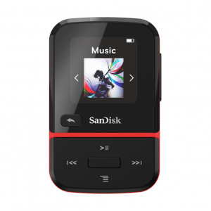 SanDisk SDMX30-016G-G46R Clip Sport Go Red 16GB SDMX30-016G-G46R