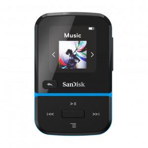 SanDisk MP3 Player SDMX30-016G-E46B Clip Sport Go Blue 16GB SDMX30-016G-E46B
