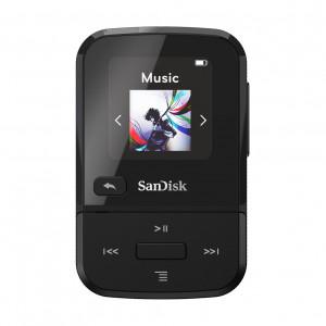 SanDisk MP3 Player SDMX30-016G-E46K Clip Sport Go Black 16GB SDMX30-016G-E46K