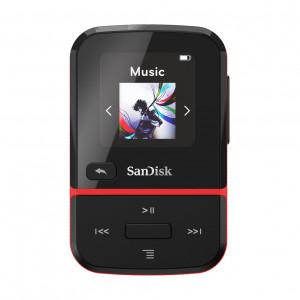 SanDisk MP3 Player SDMX30-016G-E46R Clip Sport Go Red 16GB SDMX30-016G-E46R