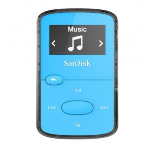 SanDisk MP3 Player SDMX26-008G-E46B ,Clip JAM Blue SDMX26-008G-E46B