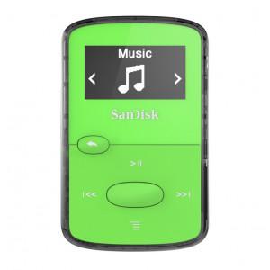 SanDisk MP3 Player SDMX26-008G-E46G ,Clip JAM Green SDMX26-008G-E46G