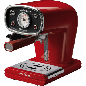 ARIETE 1388 RED COFFEE MAKER ESPRESSO RETRO (ΕΩΣ 3 ΑΤΟΚΕΣ ΔΟΣΕΙΣ)