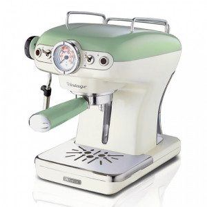 ARIETE 1389/14 GREEN ESPRESSO MACHINE VINTAGE (ΕΩΣ 3 ΑΤΟΚΕΣ ΔΟΣΕΙΣ)