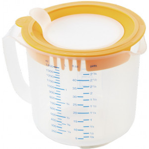 LEIFHEIT 3168 3IN1 MEASURING JUG MEASURE & STORE 1,4L 3168