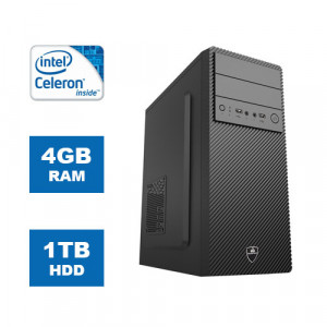 POWERTECH PC DMPC-0021 Intel Celeron G4920, DDR4 4GB, 1TB HDD, DVD-RW DMPC-0021