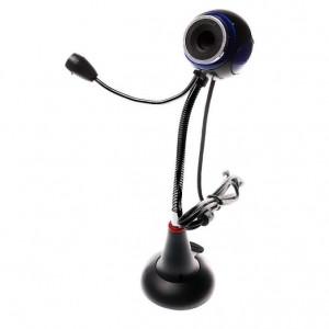 Web Camera WBC-0001, 0.3MP, Plug & Play, μαύρη