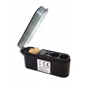 WELLYS ακουστικό ενίσχυσης ήχου 008531B, με βάση φόρτισης 008531B
