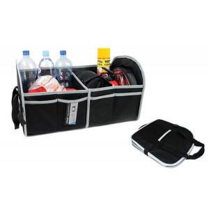 AMIO Θήκη οργάνωσης αυτοκινήτου 01118 με velcro, 55 x 31 x 30cm, μαύρη 01118