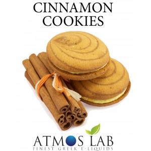 ATMOS LAB υγρο ατμισματος Cinnamon Cookies, Balanced, 6mg νικοτινη, 10ml