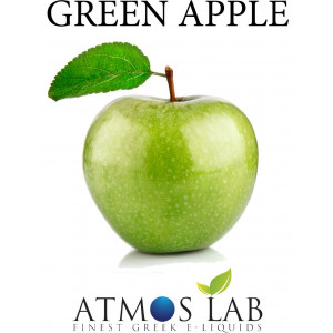 ATMOS LAB υγρο ατμισματος Green Apple, Balanced, 0mg νικοτινη, 10ml 02-000901