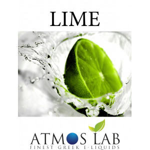 ATMOS LAB υγρο ατμισματος Lime, Balanced, 6mg νικοτινη, 10ml 02-001125