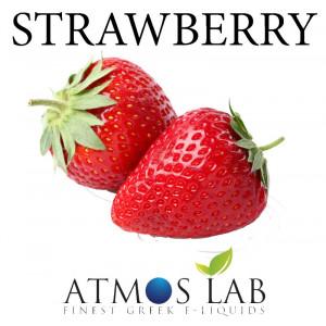 ATMOS LAB υγρο ατμισματος Strawberry, Balanced, 6mg νικοτινη, 10ml 02-001829