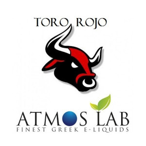 ATMOS LAB υγρο ατμισματος Toro Rojo, Balanced, 0mg νικοτινη, 10ml 02-002017