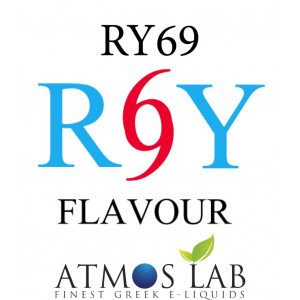 ATMOS LAB υγρο ατμισματος RY69, Mist, 3mg νικοτινη, 10ml 02-002845