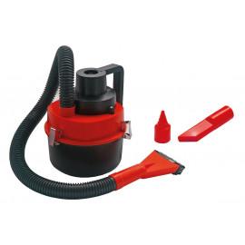 AMIO ηλεκτρική σκούπα αυτοκινήτου 02381, 93W, 12V, κόκκινο/μαύρο 02381