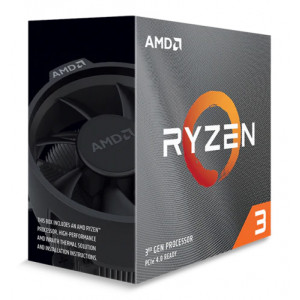 AMD CPU Ryzen 3 3100, 3.6GHz, 4 Cores, AM4, 18MB, Wraith Stealth cooler 100-100000284BOX