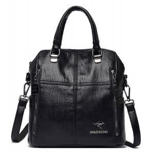 BALIDAISHU γυναικεία τσάντα ώμου 1316-BLACK, μαύρη 1316-BLACK
