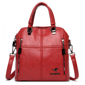 BALIDAISHU γυναικεία τσάντα ώμου 1317-RED, κόκκινη 1317-RED