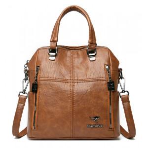 BALIDAISHU γυναικεία τσάντα ώμου 1318-BROWN, καφέ 1318-BROWN