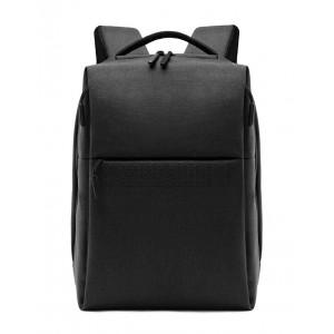 ARCTIC HUNTER τσάντα πλάτης 1701-BK με θήκη laptop, USB, μαύρη 1701-BK