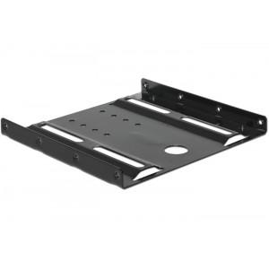 DELOCK Tray μετατροπής από 3.5 σε 2.5, Metal, black 18205
