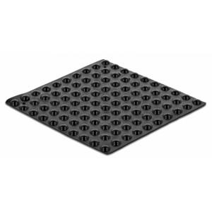 DELOCK Αυτοκόλλητη βάση προστασίας 18306, 3Μ, 5x2mm, μαύρη, 100τμχ 18306