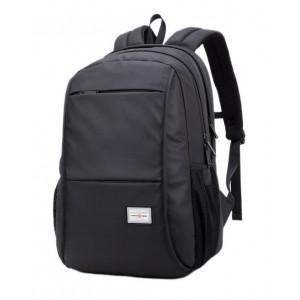 ARCTIC HUNTER τσάντα πλάτης 20005-BK, laptop, αδιάβροχη, μαύρη 20005-BK