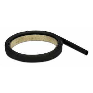 DELOCK Θερμοσυστελλόμενο μονωτικό για καλώδια 20664, 2mx4mm, 4:1 μαύρο 20664