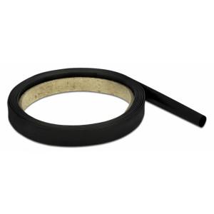 DELOCK Θερμοσυστελλόμενο μονωτικό για καλώδια 20665, 2mx6mm, 4:1 μαύρο 20665