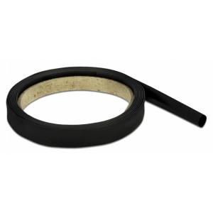 DELOCK Θερμοσυστελλόμενο μονωτικό για καλώδια 20666, 2mx8mm, 4:1 μαύρο 20666