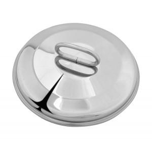 METALOSOMMA Καπάκι 209/24, AISI 304, inox, 24cm 209-24-304