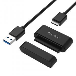 ORICO αντάπτορας SATA σε USB 3.0 για 2.5 HDD/SSD 20UTS, 5Gbps, μαύρος 20UTS-BK-BP