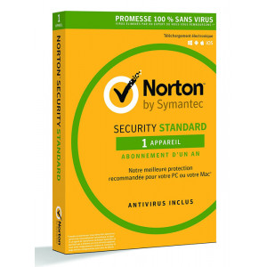 NORTON Security Standard 2018 (1 Άδεια, 1 έτος), EU 21355371