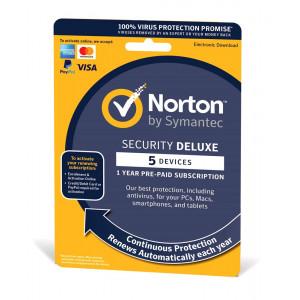 NORTON Security Deluxe 3.0, 5 συσκευές, 1 έτος, EU 21384954