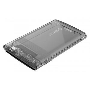ORICO εξωτερική θήκη για 2.5 HDD 2139C3, USB 3.1, 10Gbps, 4TB, διάφανη 2139C3-G2-CR-BP