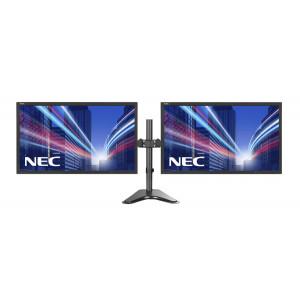 NEC used 2x Οθόνες LCD 22 1680 x 1080, FQ, με Brateck βάση LDT24-T024 22LCDNECBF-T024