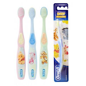 ORAL-B B παιδική οδοντόβουρτσα Baby, extra μαλακή, ποικιλία χρωμάτων 3014260100636